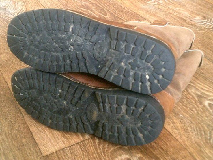 Marcom (Италия) кожаные сапоги на меху разм.40.5, фото №7