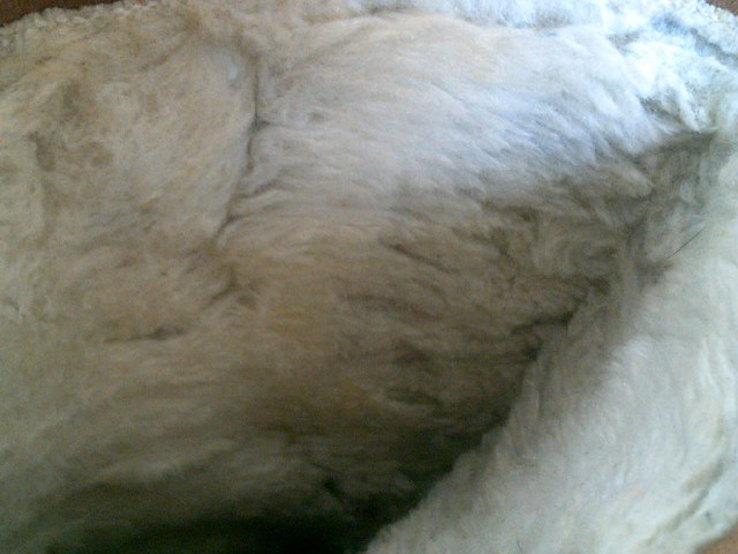 Marcom (Италия) кожаные сапоги на меху разм.40.5, фото №8