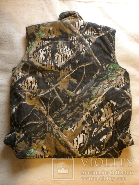Желетка утепленная камуфляжная, XL, фото №8