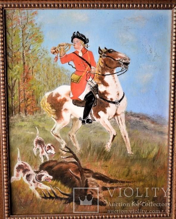 Картина Охота H. Sembol Европа, фото №3