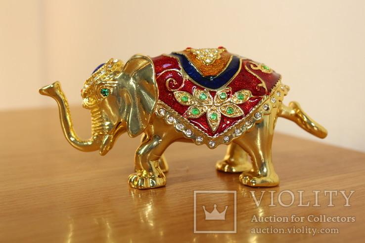 Шкатулка Слон, фото №2