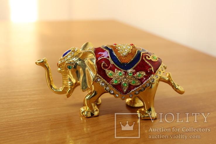 Шкатулка Слон, фото №3