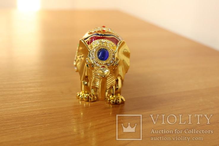 Шкатулка Слон, фото №4