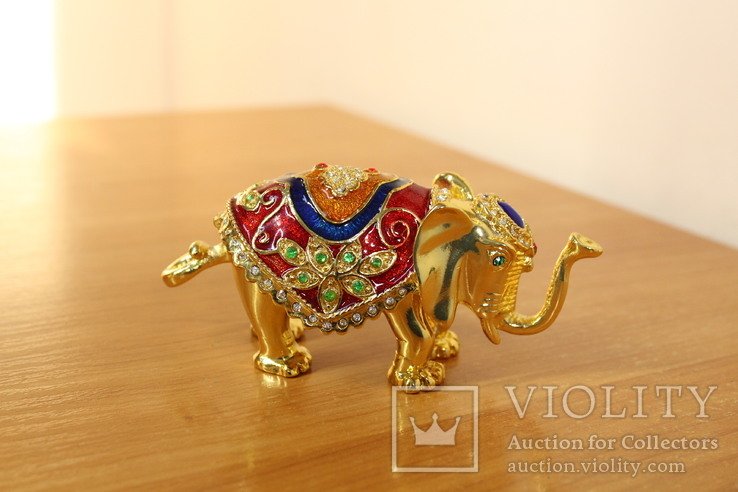 Шкатулка Слон, фото №5