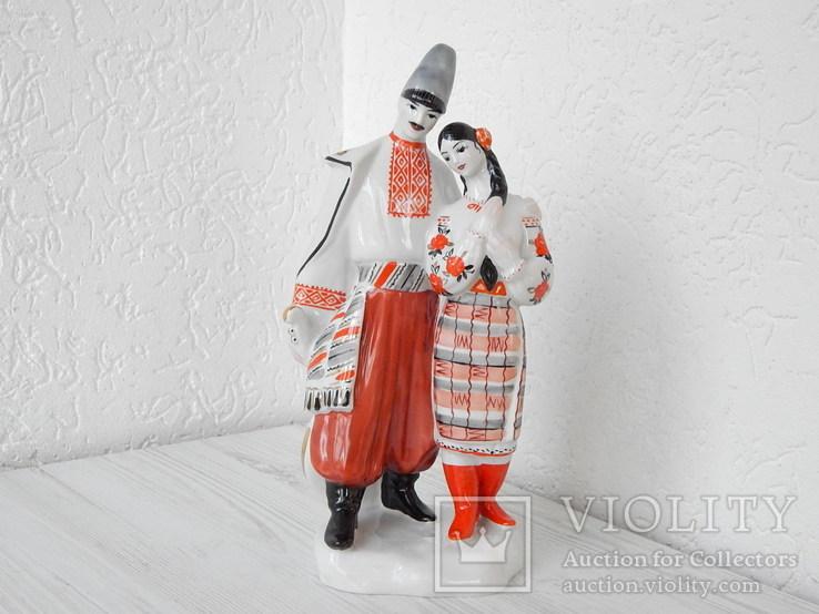 Фигурка ''Левко и Оксана'' Киев 1с.