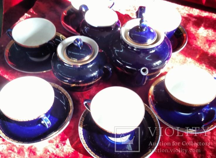 Чайный сервиз лфз кобальт, фото №3