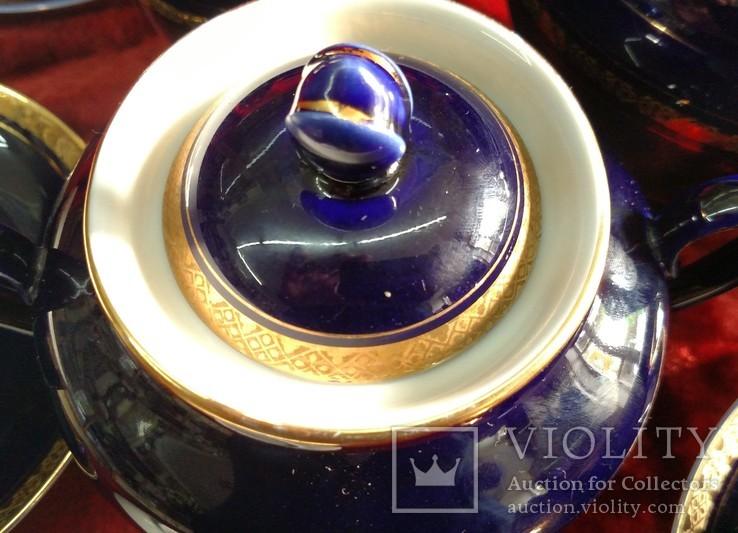 Чайный сервиз лфз кобальт, фото №7