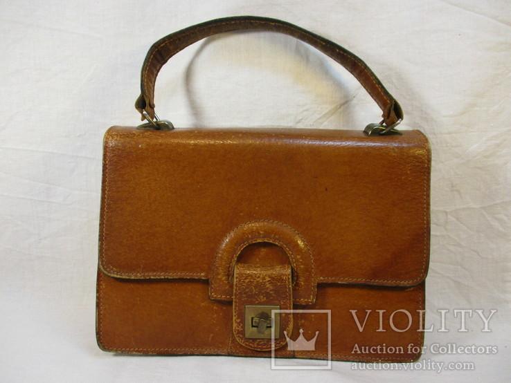 Женская сумочка кожа, фото №2