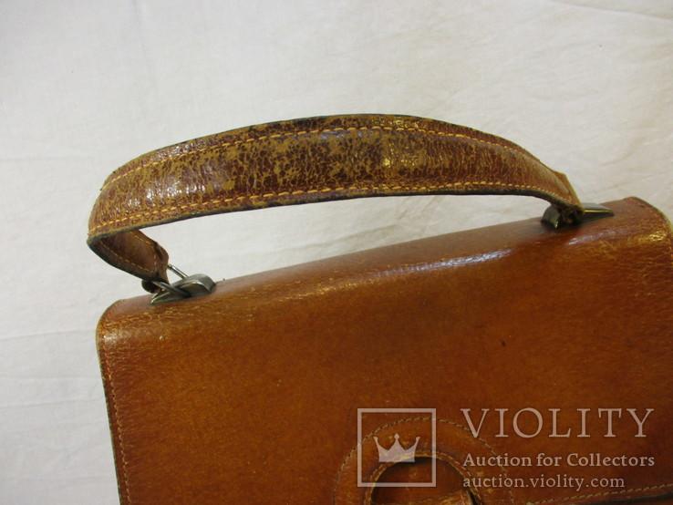 Женская сумочка кожа, фото №3