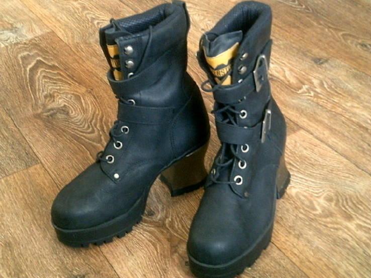 Riverstone - фирменные кожаные ботинки разм 41., фото №4