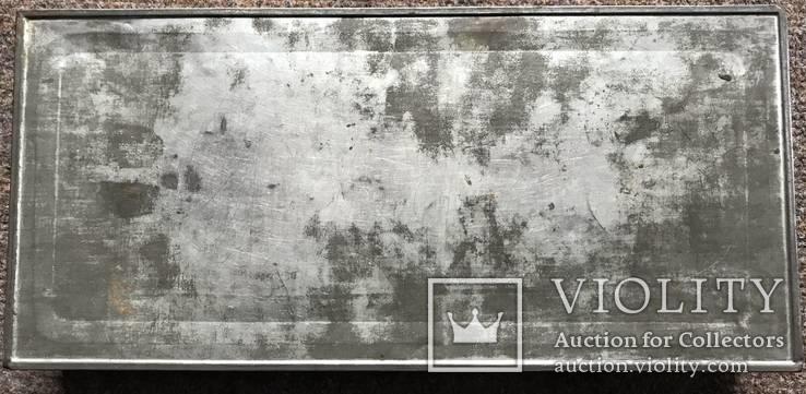Жестяная царская коробочка А.И. Абрикосова, Москва, фото №8