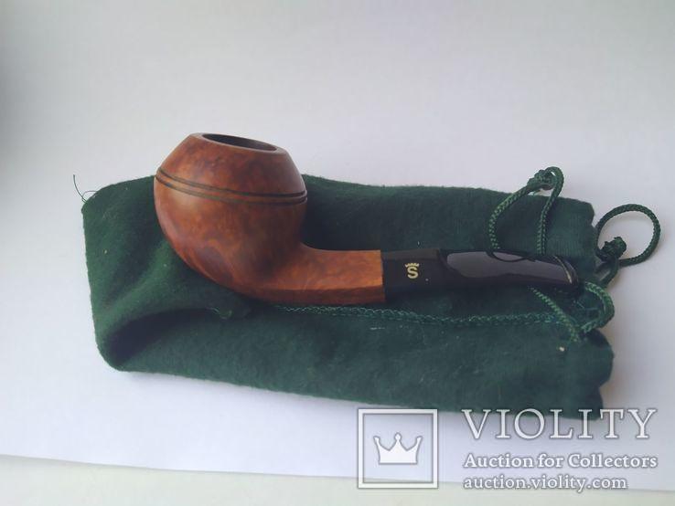Курительная трубка stanwell Silke brun denmark 191, фото №2