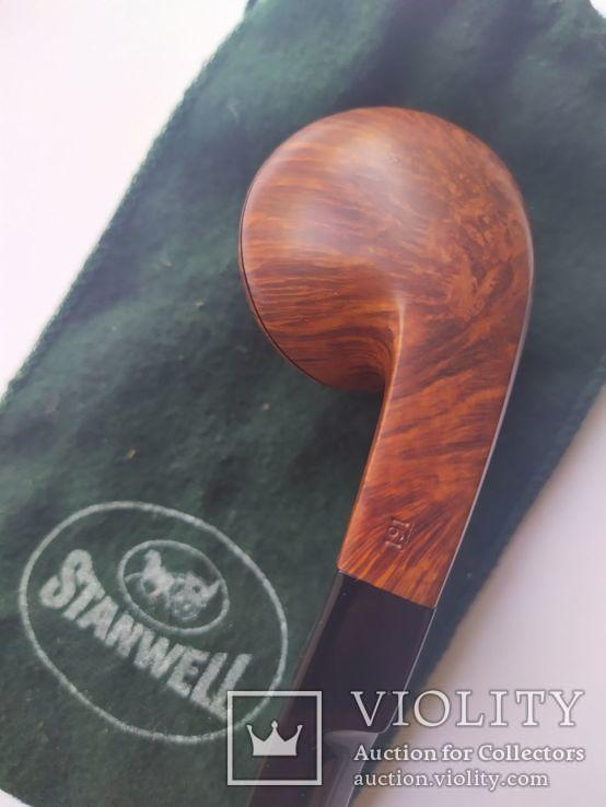 Курительная трубка stanwell Silke brun denmark 191, фото №5