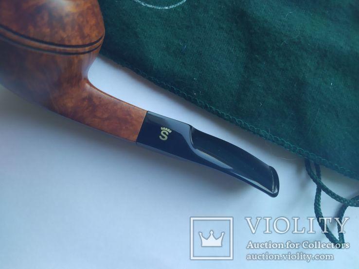 Курительная трубка stanwell Silke brun denmark 191, фото №7