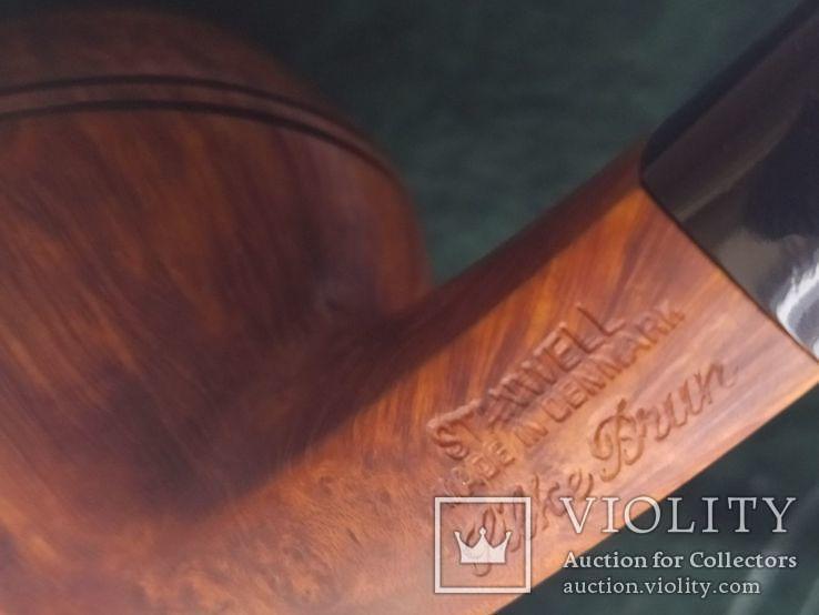 Курительная трубка stanwell Silke brun denmark 191, фото №8
