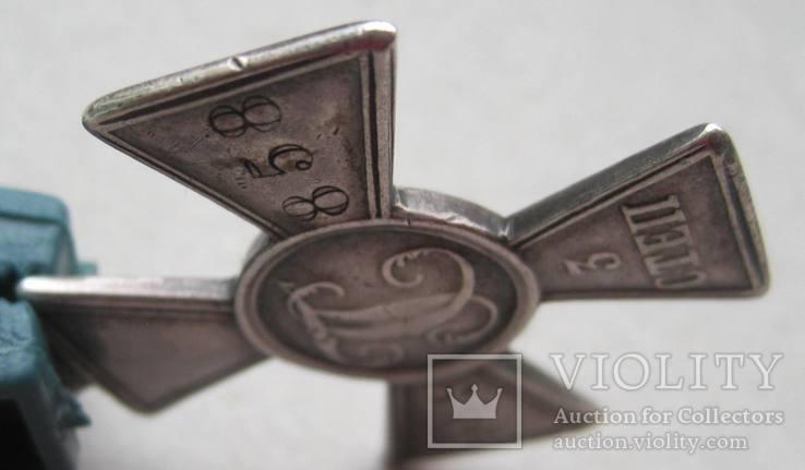 Георгиевский крест 3 ст. 49858 на полного Георгиевского кавалера, фото №8