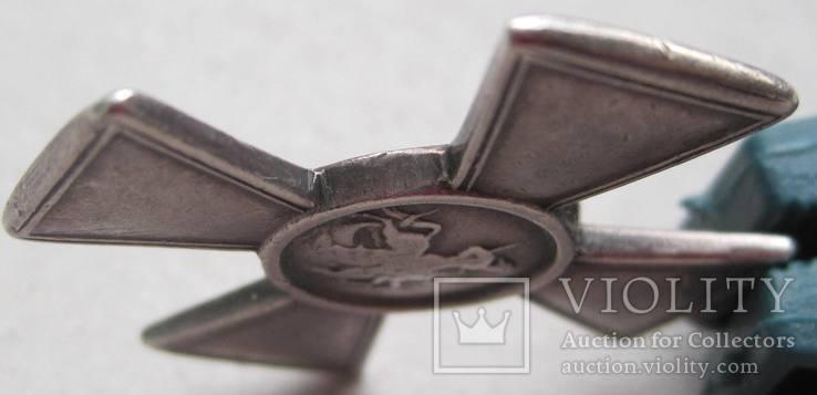 Георгиевский крест 3 ст. 49858 на полного Георгиевского кавалера, фото №9