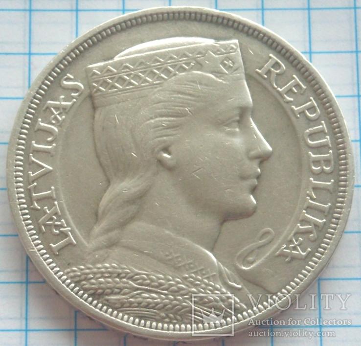 5 латов, Латвия, 1932г.