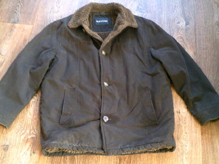 Biaggini - фирменная куртка дубленка разм.46, фото №3