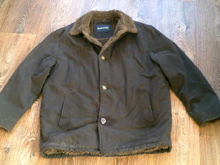 Biaggini - фирменная куртка дубленка разм.46, фото №5