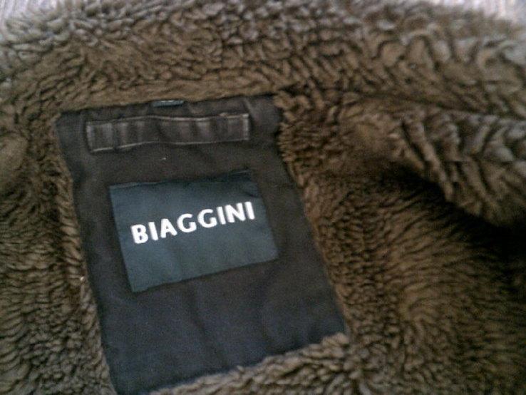 Biaggini - фирменная куртка дубленка разм.46, фото №7