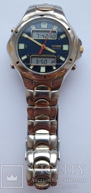 Citizen WR 50 alarm-chrono C240-S75241, фото №2
