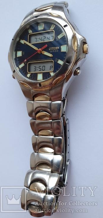 Citizen WR 50 alarm-chrono C240-S75241, фото №5