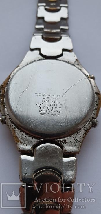 Citizen WR 50 alarm-chrono C240-S75241, фото №9