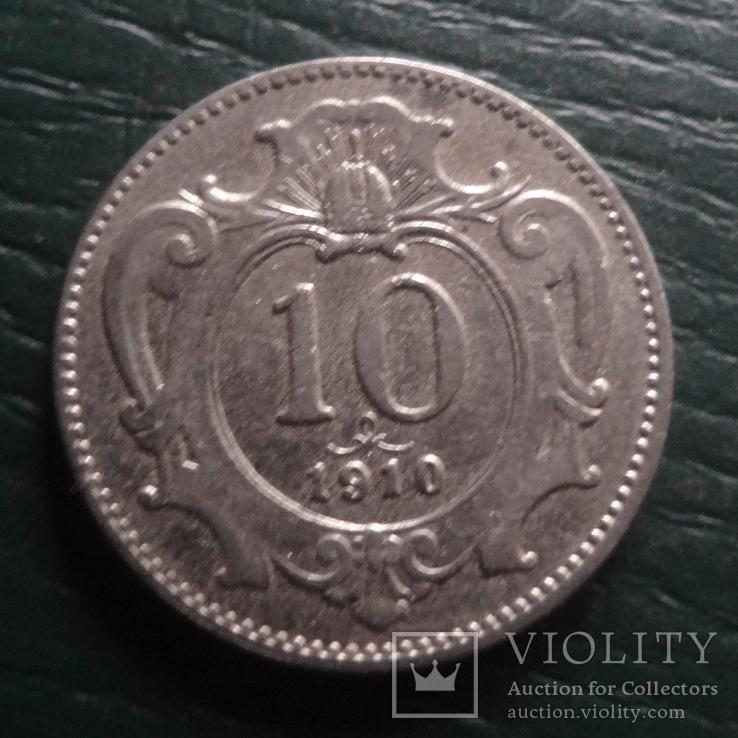10 геллеров 1910  Австро-Венгрия   (R.5.23)~