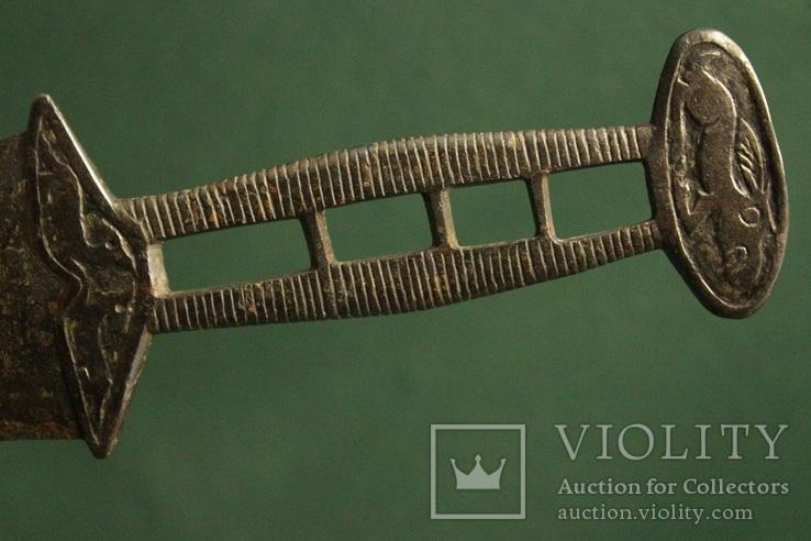 Скифский акинак в зверином стиле (тип чертомлык), фото №2