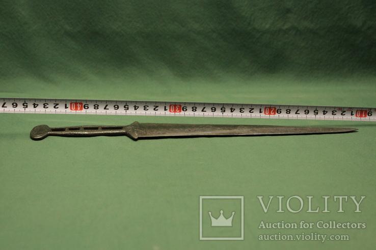 Скифский акинак в зверином стиле (тип чертомлык), фото №13