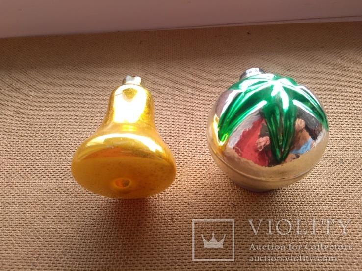 Пара ёлочных игрушек СССР, фото №4