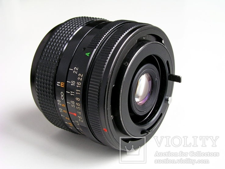 Revuenon MC 2,8/28 для Canon FD,Япония., фото №3
