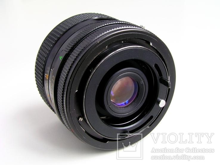 Revuenon MC 2,8/28 для Canon FD,Япония., фото №4