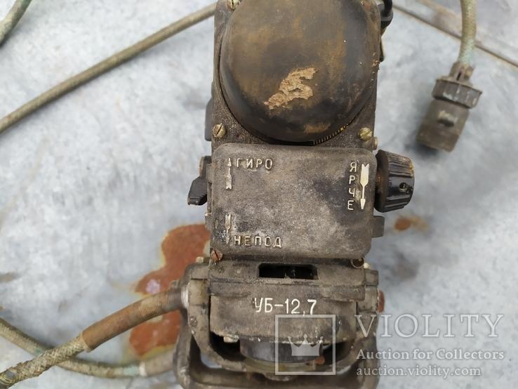 Колиматорный прицел боевого аэроплана, фото №5