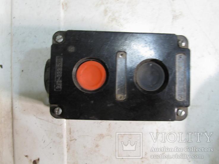 Кнопочний вимикач, фото №2