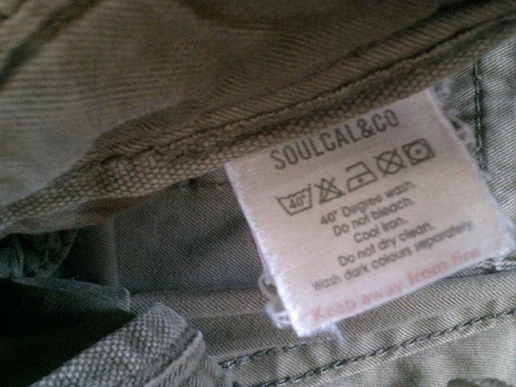 California - фирменные защитные шорты с ремнем, фото №5