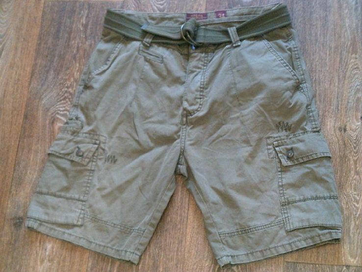 California - фирменные защитные шорты с ремнем, фото №8