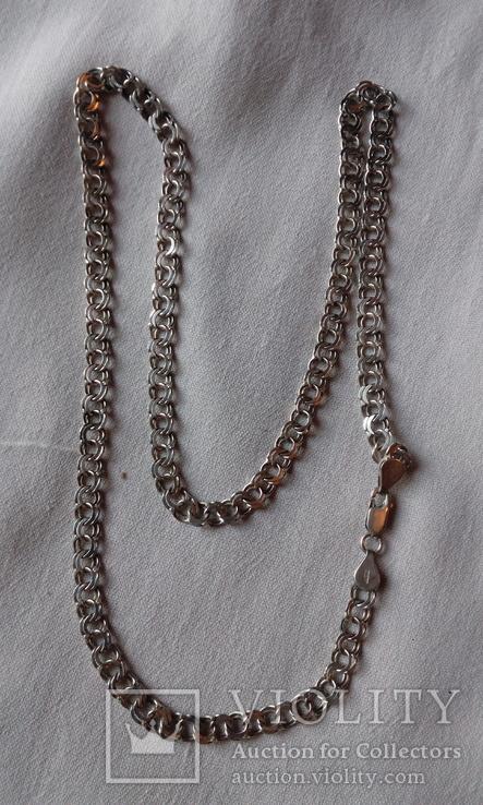 Серебрянная цепочка 18.5 грамм., фото №2
