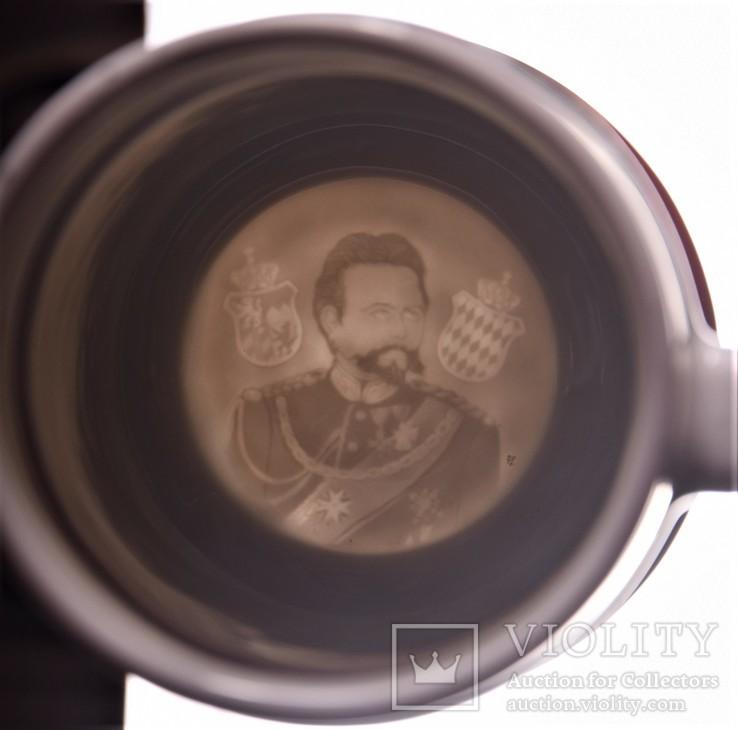 Большая пивная кружка резервиста 3й Шеволежерcкий полк, фото №9