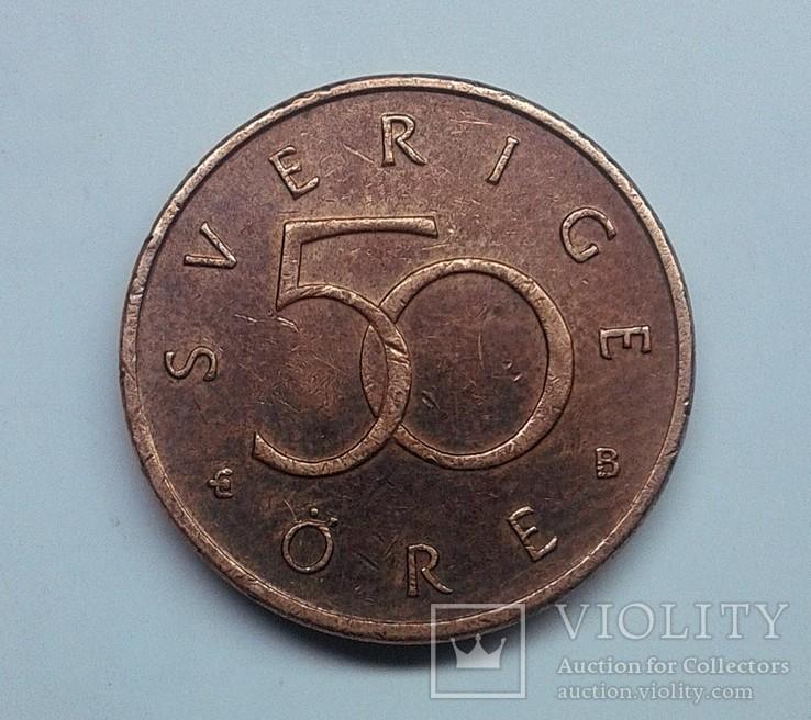 Швеция 50 эре 1999, фото №2