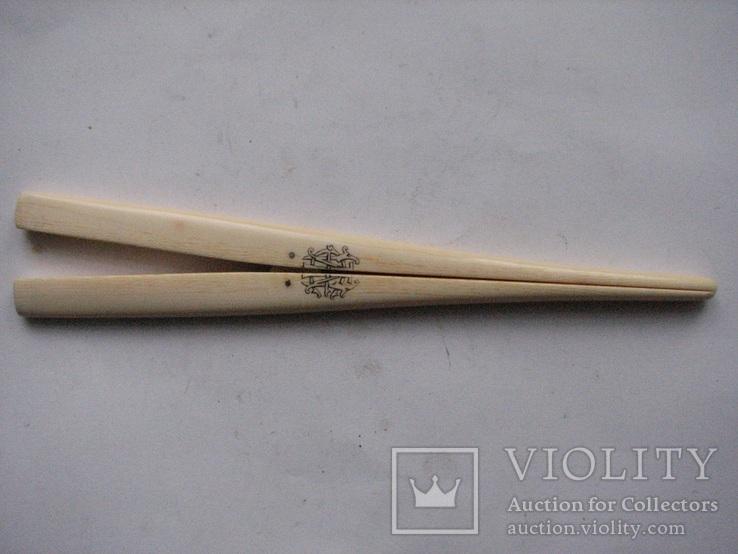 Щипцы для растяжки перчаток .слоновая кость, фото №2