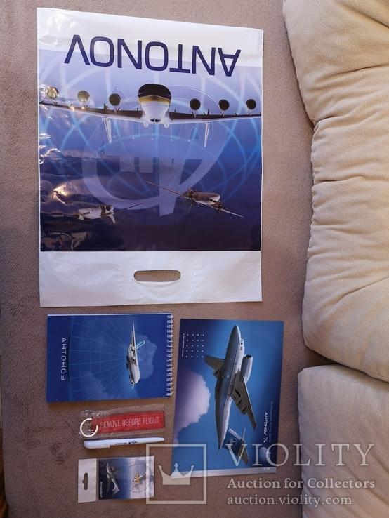 Набор с конференции завод Антонова авиация самолет АН, фото №3