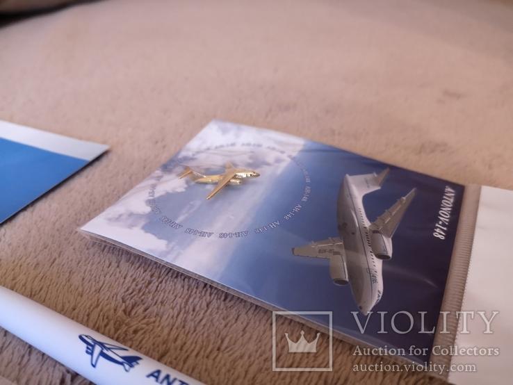 Набор с конференции завод Антонова авиация самолет АН, фото №6