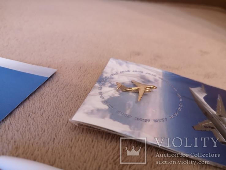 Набор с конференции завод Антонова авиация самолет АН, фото №7