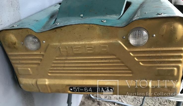 Игрушка машинка педальная Нева, фото №3