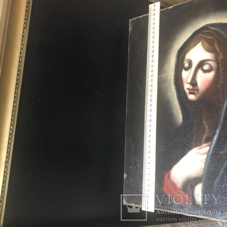 Старинная картина, XVIII век, фото №13