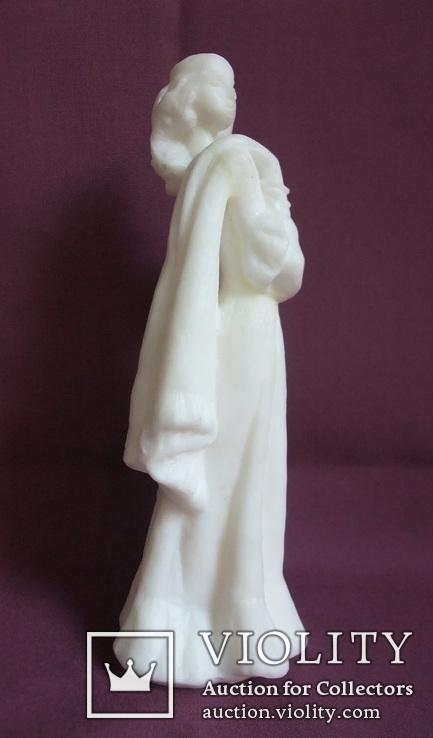 Скульптура- Девушка. Золушка на балу. Пластик - полиуретан СССР 60-е годы., фото №4