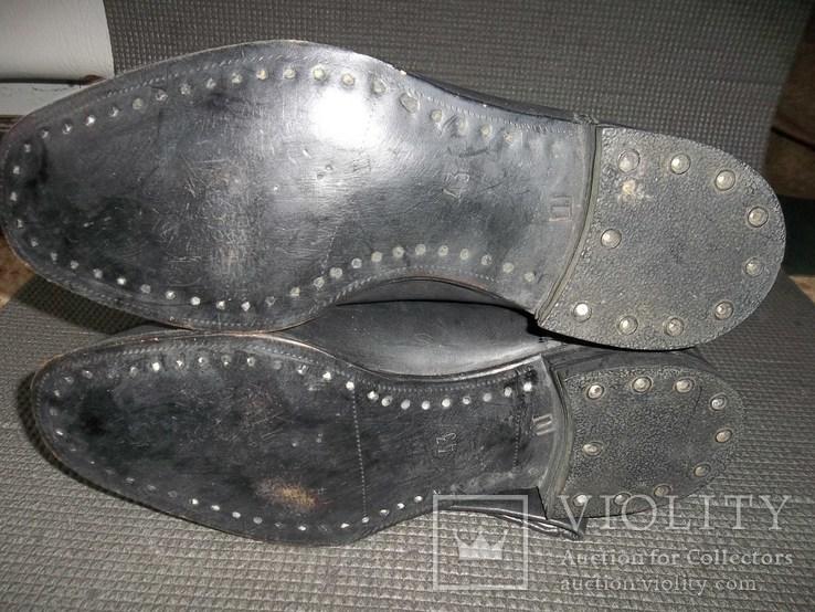 Сапоги хромовые.43 размер.СССР., фото №5