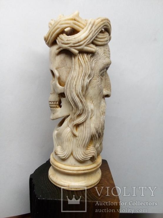 Статуетка з кості ,,Memento mori,,, фото №4